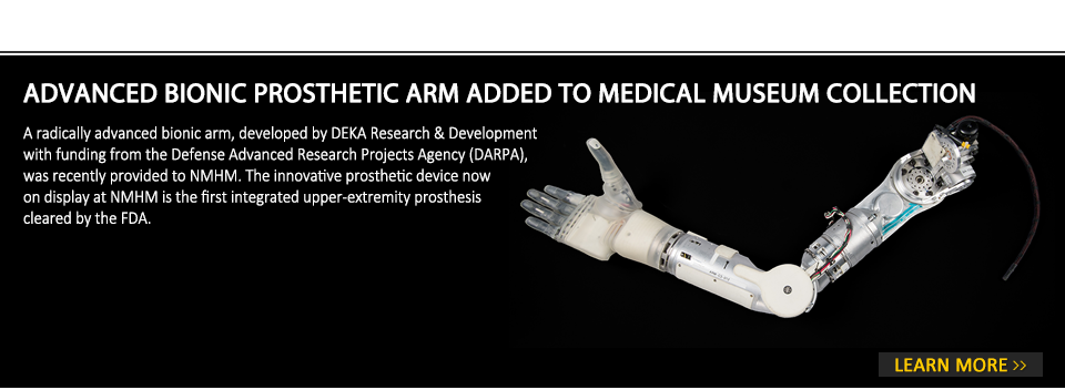 Advanced Bionic Prosthetic Arm Added to Medical Museum Collection